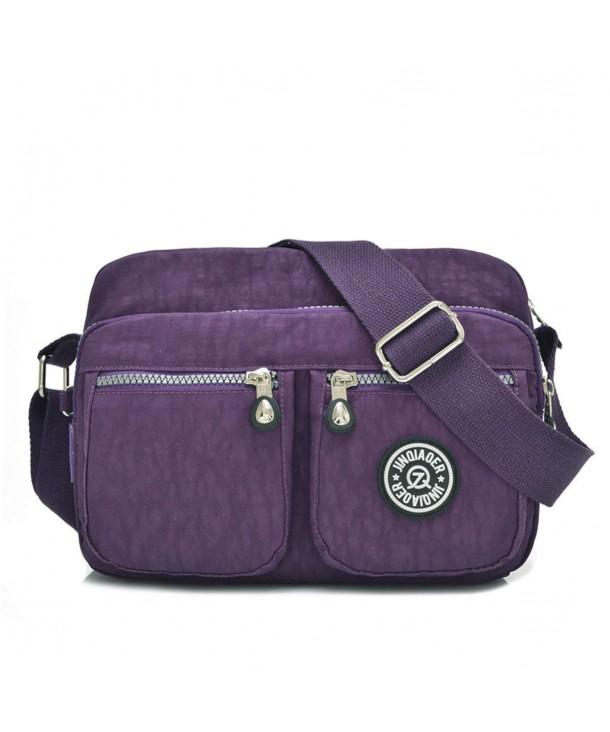 dbf215d2f1 Lightweight Waterproof Nylon Shoulder Bag Compact Crossbody ...