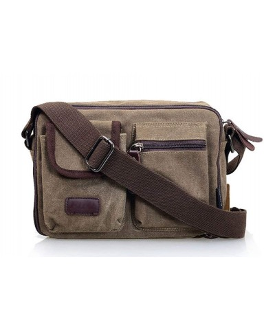 Ecokaki Multi pocket Traveling Crossbody Messenger