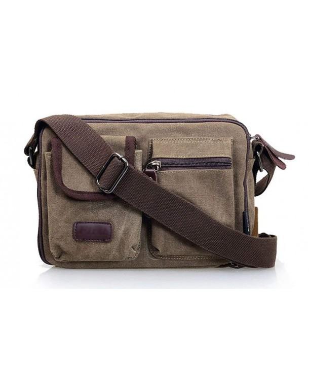 Ecokaki Multi pocket Traveling Crossbody Messenger