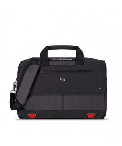 Solo Mission Briefcase Pocket Black