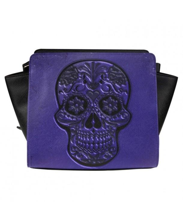 Interestprint Satchel Skull Women Shoulder