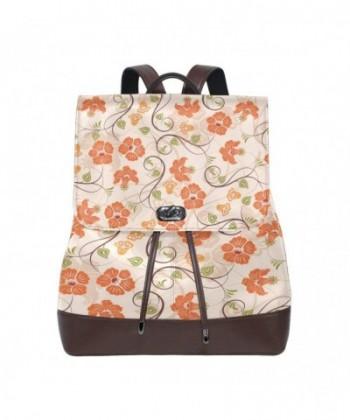 Womens Leather Backpack Shoulder Travel