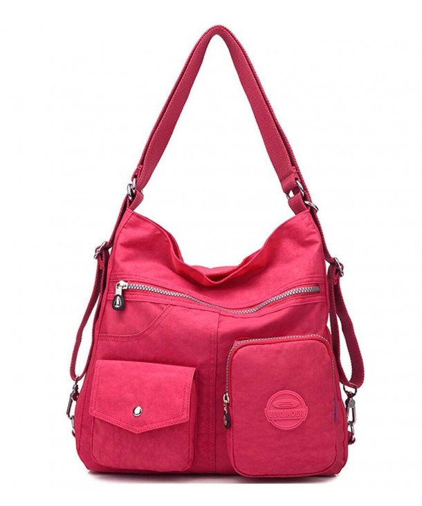 Multipurpose Water resistant Shoulder Handbag Backpack