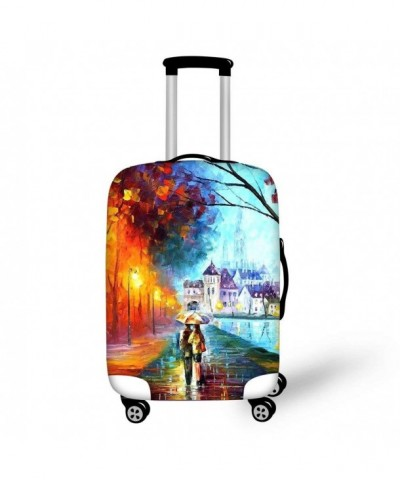 HUGSIDEA Fashion Painting Suitcase Protective