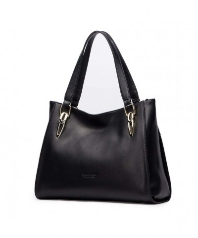 LAORENTOU Leather Handbag Shoulder Cowhide