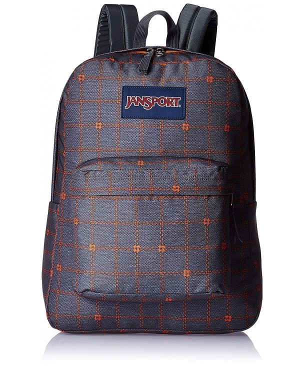 JanSport Superbreak Shady Stitch Plaid