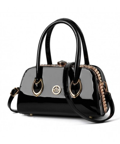 Nevenka Leather Evening Satchel Handbags