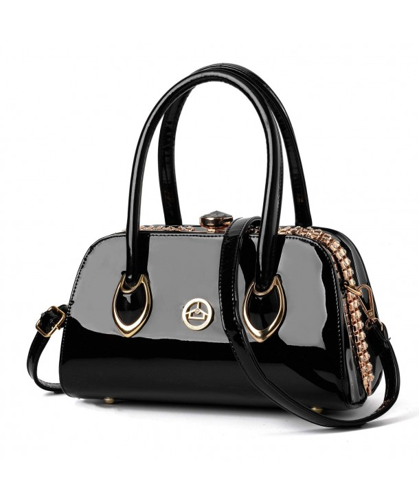 Nevenka Leather Evening Satchel Handbags