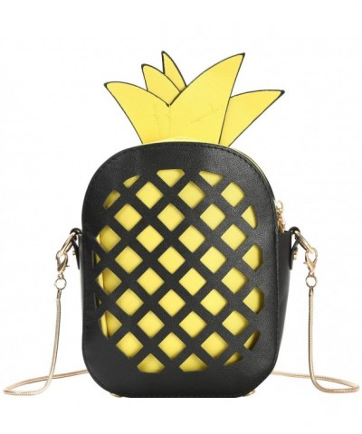 Pineapple Shaped Leather CrossBody Shoulder