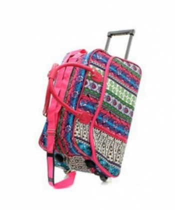 Rolling Duffel Travel Bohemian Design