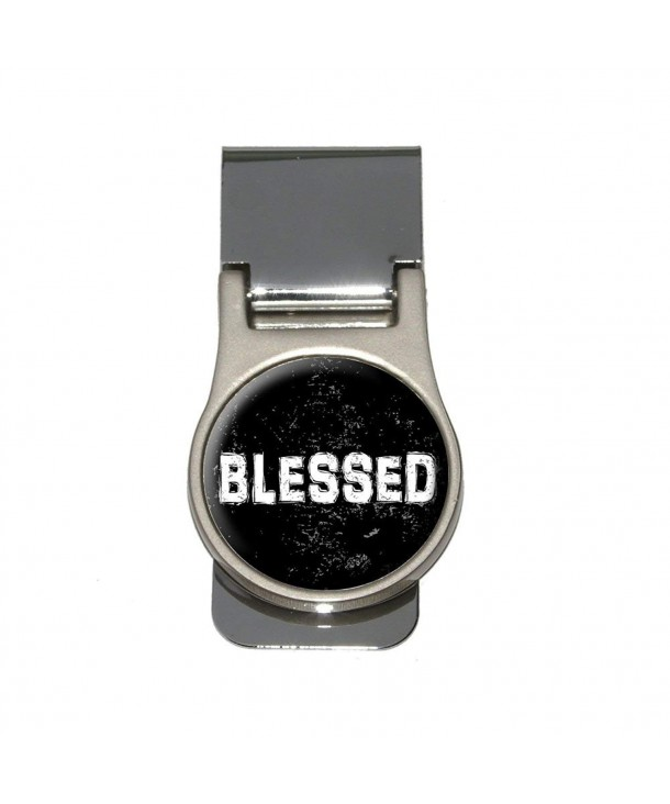 Blessed Distressed Christian Religious Inspirational
