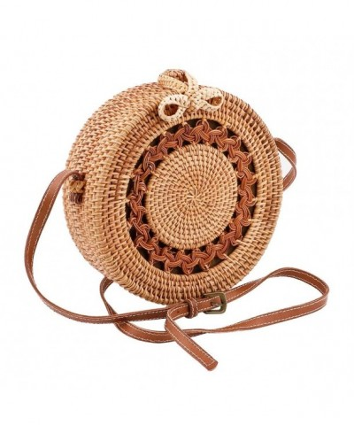 Handwoven Adjustable shoulder Handbags Crossbody