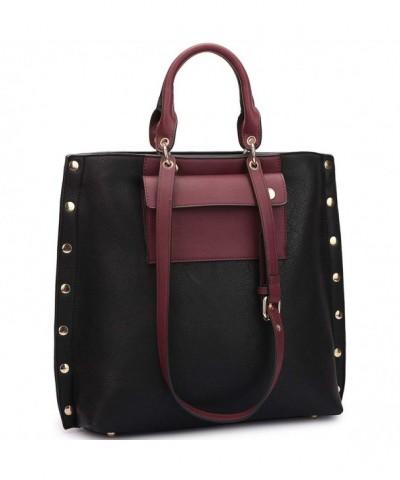 Dasein Classic Shoulder Handbag Accents