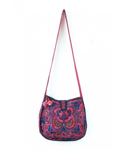 Changnoi MAGENTA Cross Over Ethnic Embroidered