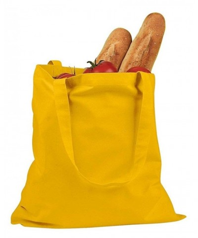 BAGedge Canvas Promo Tote Yellow