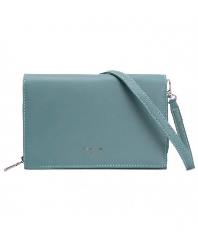 DAVIDJONES Elegant Evening Leather Pochette