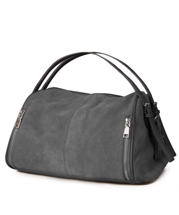 Bag Genuine Suede Leather Shoulder