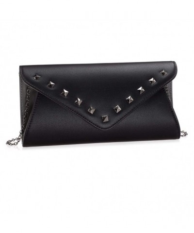 Womens Leather Envelope Fashion Handbag