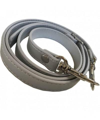 Silver Matte Adjustable Replacement Handbag