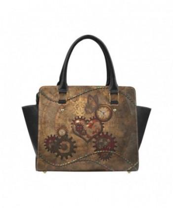Interestprint Steampunk Classic Handbag Shoulder