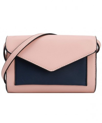 DELUXITY Womens Envelope Clutch Crossbody