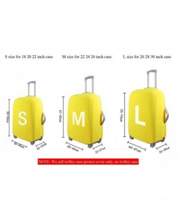 Freewander Travel Luggage Covers Elastic Protector Skin for 18 to 30 Suitcase