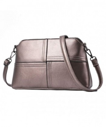 JIARUO Leather Crossbody closure Handbag