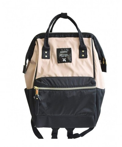 Anello Nylon Zipper Small Backpack
