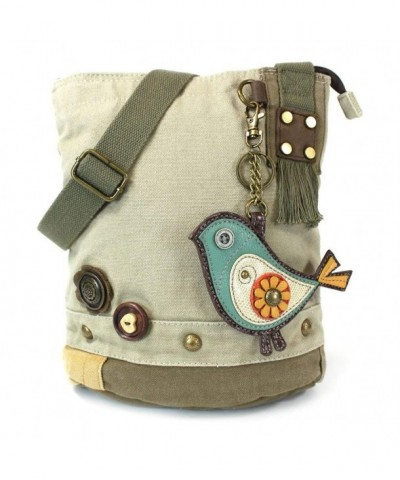 Chala Cross Body Handbag Canvas Messenger