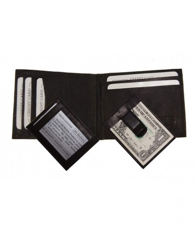 Wallets Leather Bifold Credit Holder