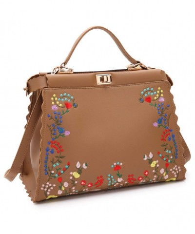 Dasein Embroidery Handbag Designer Shoulder
