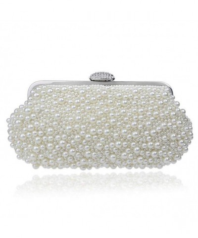 EPLAZA Beaded Evening Handbags Wedding