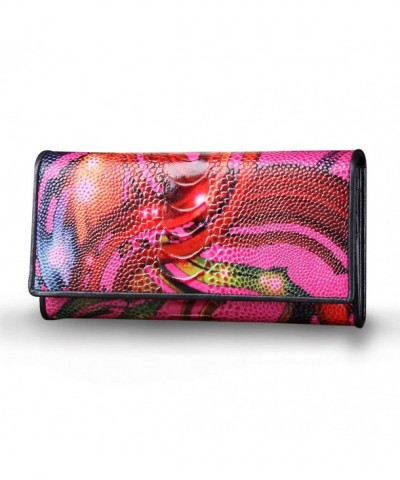 Contacts Womens Leather Wallets Clutches