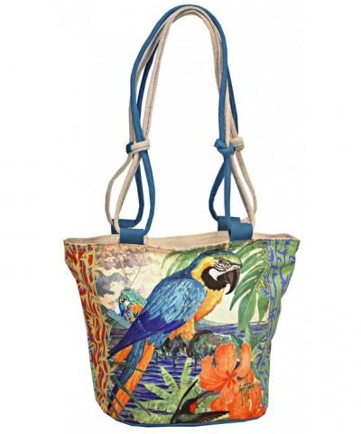 Tropical Jungle Parrot Ladies Shoulder
