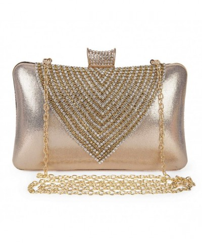 Clocolor Evening Clutches Rhinestone Crystal