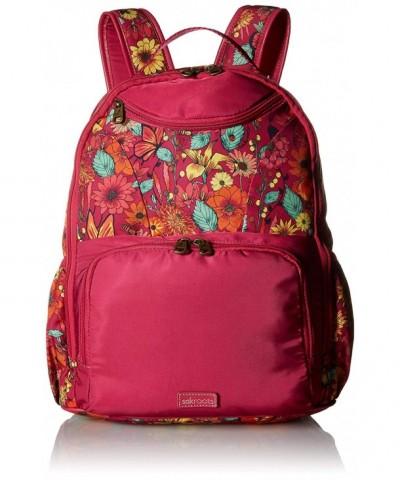 Sakroots Adventure Madison Backpack raspberry