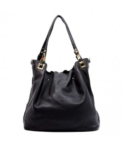 Miel Side Zip Shoulder Handbag