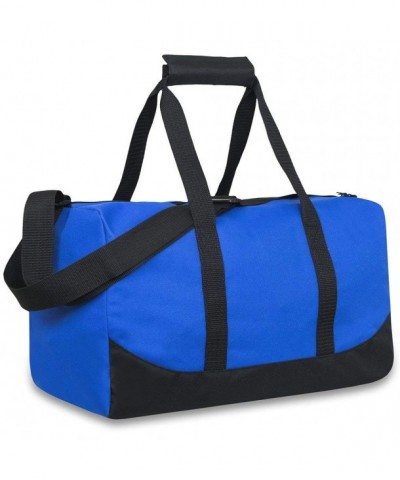 Classic Duffel Adjustable Strap BLUE