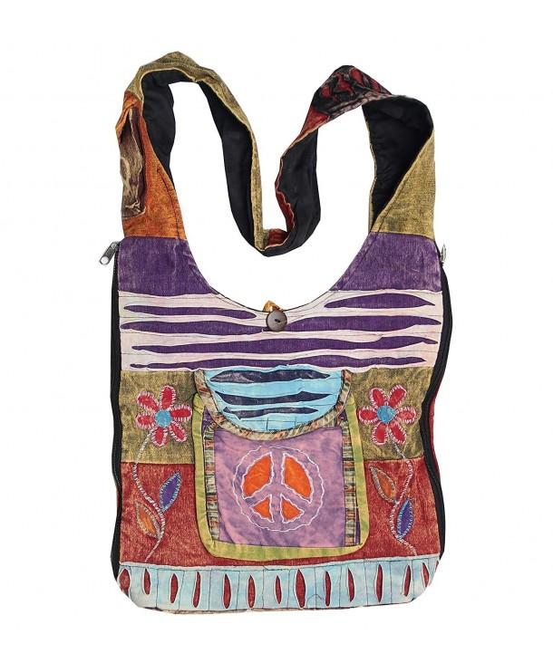 Bohemian Hippie Pockets Shoulder Crossdody