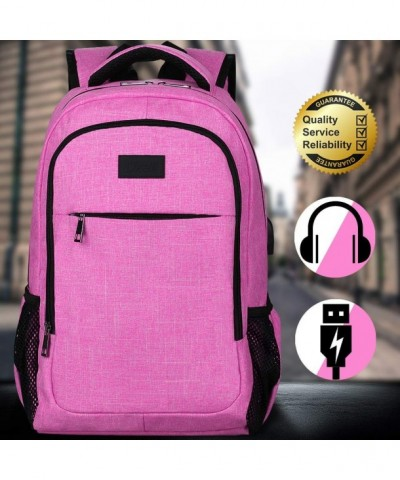 Backpack Water Resistant Charging Headphone Connector