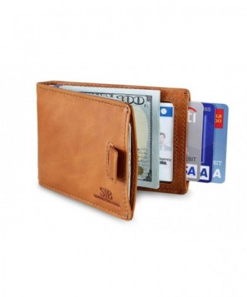 Blocking Genuine Leather Minimalist Wallets