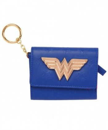 Wonder Woman Gold Tri fold Purse