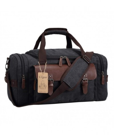 Ulgoo Canvas Leather Weekender Overnight