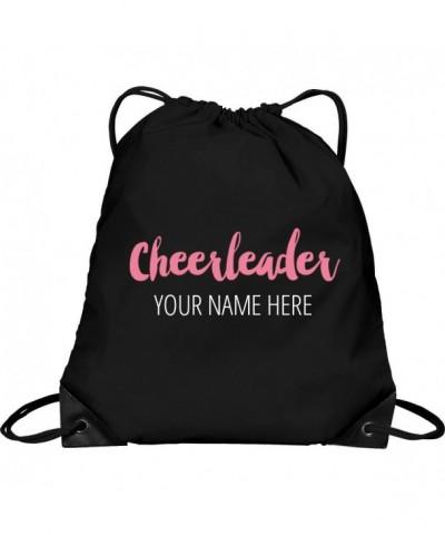 Custom Cheerleader Clinch Bag Drawstring