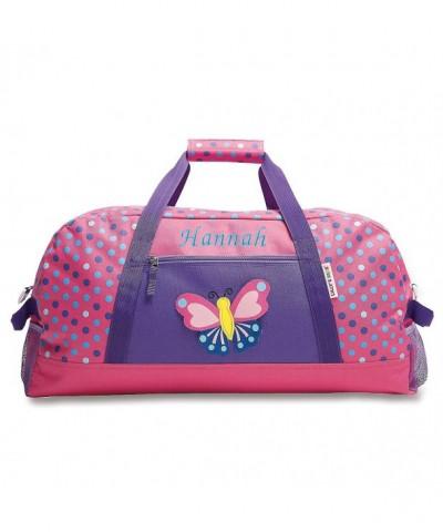 Personalized Butterfly Carry Duffel Girls
