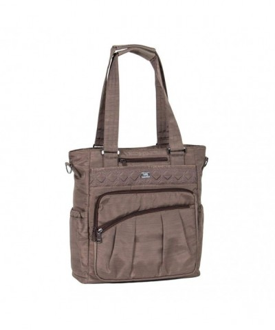 Lug Clothing Jewelry Tote Walnut