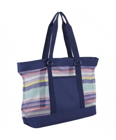 Eastsport Beach Indigo Printed Stripe