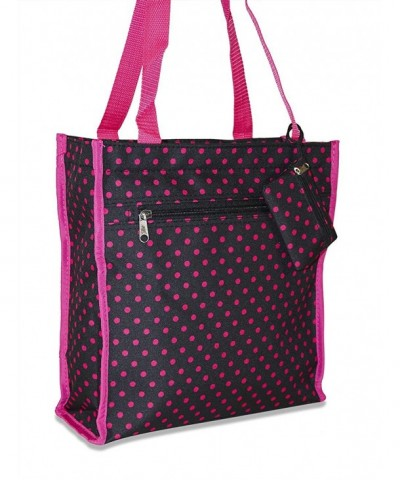Ever Moda Polka Dot Tote