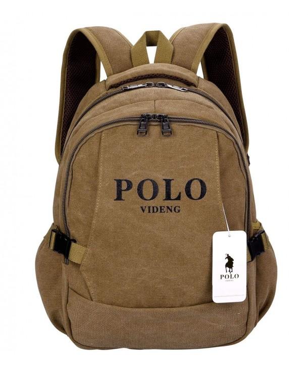 Backpack Business Handbags Bookbag Brown BCS