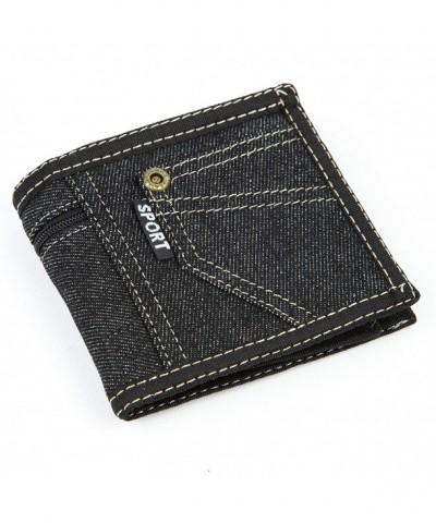 Sport Demin Bi fold Wallet Pocket